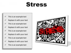 Stress Business PowerPoint Presentation Slides F