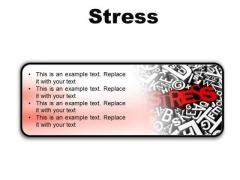 Stress Business PowerPoint Presentation Slides R