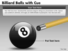 Strike The Eight Ball PowerPoint Ppt Templates