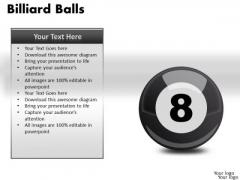 Stripe Billiard Balls PowerPoint Slides And Ppt Diagram Templates