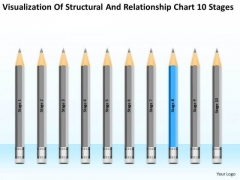 Structural And Relationship Chart 10 Stages Non Profit Business Plans PowerPoint Templates