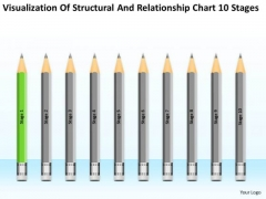Structural And Relationship Chart 10 Stages Ppt Best Business Plan PowerPoint Slides