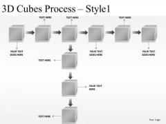 Structure 3d Cubes Process PowerPoint Slides And Ppt Diagram Templates