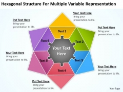 Structure For Multiple Variable Representation Ppt Business Plan Downloads PowerPoint Slides