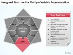 Structure For Multiple Variable Representation Ppt Sample Business Proposal PowerPoint Templates