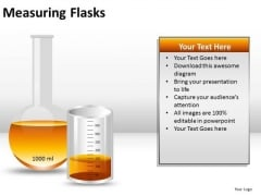 Substance Measuring Flasks PowerPoint Slides And Ppt Diagram Templates