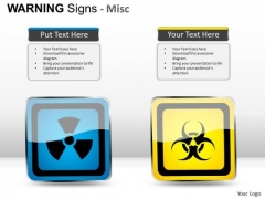 Substances Warning Signs PowerPoint Slides And Ppt Template Diagrams