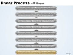 Success PowerPoint Template Linear Process 8 Stages Business Management Image