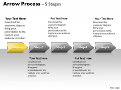 Success Ppt Arrow Process 5 Power Point Stage Style 1 Project Management PowerPoint 2 Graphic