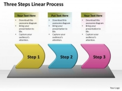 Success Ppt Theme Three Create PowerPoint Macro Working With Slide Numbers Linear Process 1 Design