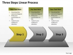 Success Ppt Theme Three Create PowerPoint Macro Working With Slide Numbers Linear Process 2 Design