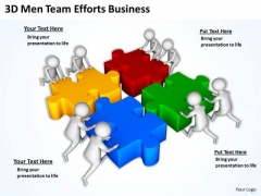 Successful Business People Efforts PowerPoint Templates Free Download