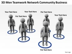 Successful Business People Network Community PowerPoint Presentations Templates