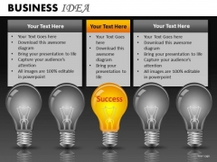 Successful Idea PowerPoint Ppt Slides