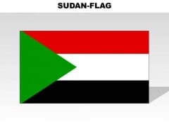 Sudan Country PowerPoint Flags
