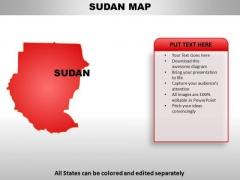 Sudan PowerPoint Maps