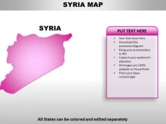 Syria PowerPoint Maps