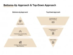 TAM SAM And SOM Bottoms Up Approach And Top Down Approach Ppt Slides Example File PDF