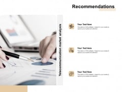 TAM SAM And SOM Recommendations Ppt Pictures Slides PDF