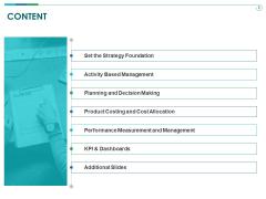 TCM Content Ppt Slides Deck PDF