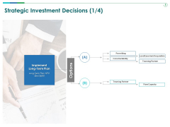 TCM Strategic Investment Decisions Plan Ppt Styles Example File PDF