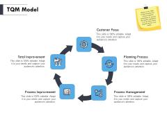 TQM Model Ppt PowerPoint Presentation Gallery Templates