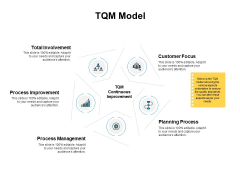 TQM Model Ppt PowerPoint Presentation Outline Tips