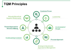 TQM Principles Ppt PowerPoint Presentation Infographic Template Summary