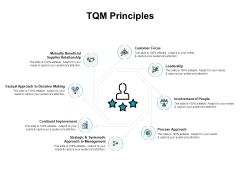 TQM Principles Ppt PowerPoint Presentation Model Vector
