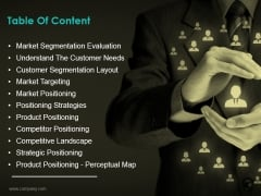 Table Of Content Ppt PowerPoint Presentation Inspiration Vector