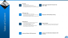 Table Of Content Ppt Styles Sample PDF