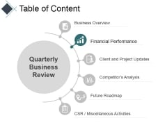 Table Of Content Template 1 Ppt PowerPoint Presentation Infographics Display