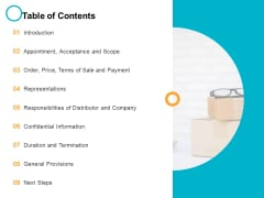 Table Of Contents Introduction Ppt PowerPoint Presentation File Graphics Example