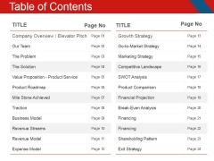 Table Of Contents Ppt PowerPoint Presentation Layouts Introduction