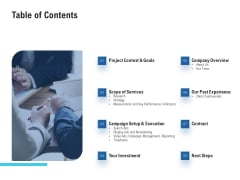 Table Of Contents Professional PDF
