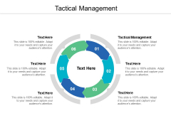 Tactical Management Ppt PowerPoint Presentation Information Cpb