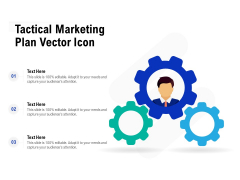 Tactical Marketing Plan Vector Icon Ppt PowerPoint Presentation File Guidelines PDF
