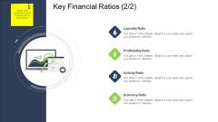 Tactical Merger Key Financial Ratios Activity Ppt Slides Objects PDF