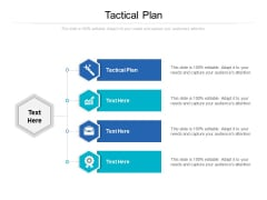 Tactical Plan Ppt PowerPoint Presentation Pictures Icon Cpb