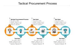 Tactical Procurement Process Ppt PowerPoint Presentation Slides Summary Cpb Pdf
