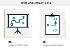 Tactics And Strategy Icons Ppt PowerPoint Presentation Summary Clipart Images