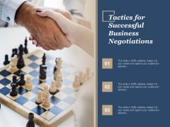 Tactics For Successful Business Negotiations Ppt Powerpoint Presentation Summary Graphic Tips