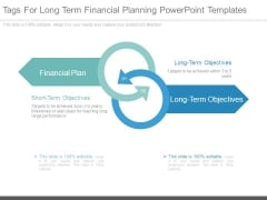 Tags For Long Term Financial Planning Powerpoint Templates