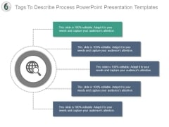 Tags To Describe Process Powerpoint Presentation Templates