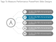 Tags To Measure Performance Powerpoint Slide Designs