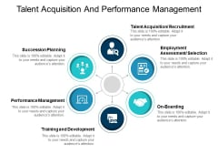 Talent Acquisition And Performance Management Ppt PowerPoint Presentation Introduction