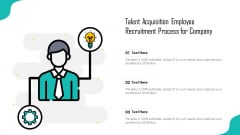 Talent Acquisition Employee Recruitment Process For Company Ppt Professional Influencers PDF