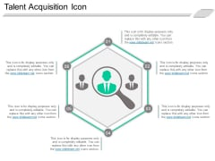 Talent Acquisition Icon Ppt PowerPoint Presentation Infographics Good