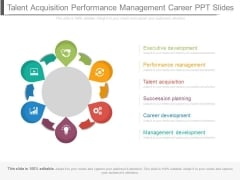 Talent Acquisition Performance Management Career Ppt Slides