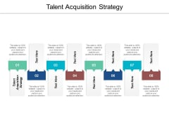 Talent Acquisition Strategy Ppt PowerPoint Presentation Styles Background Cpb